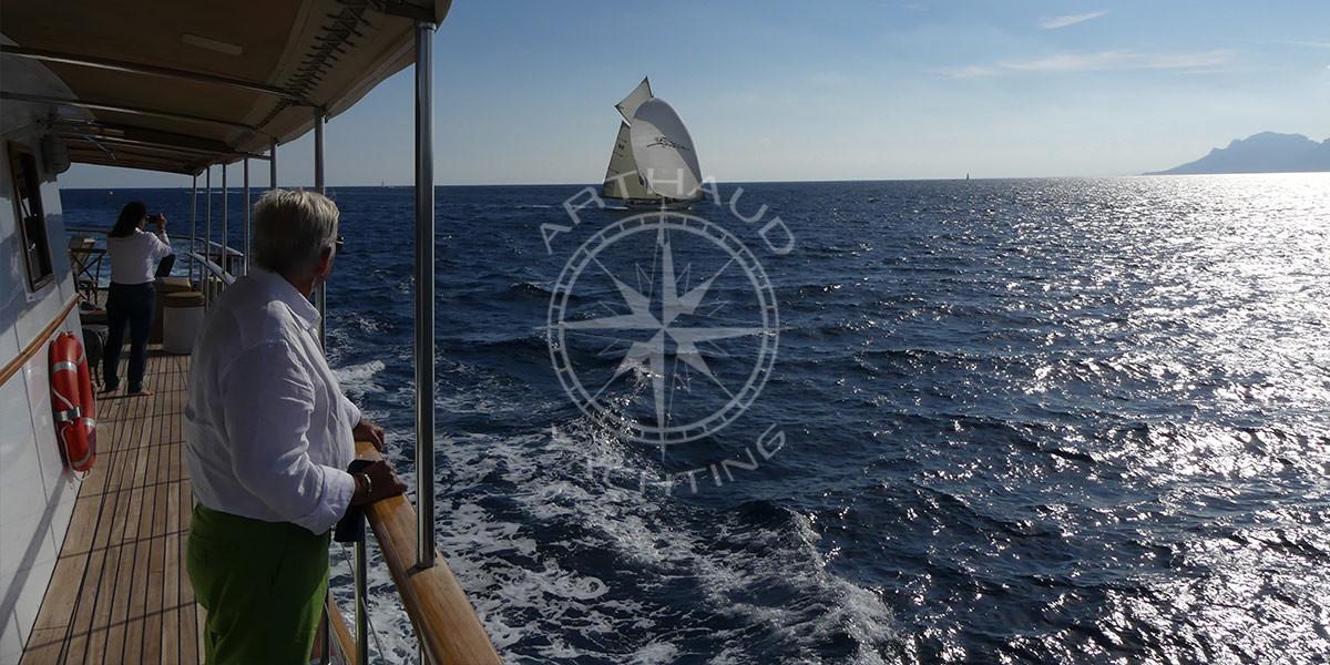 Suivi des Régates Royales à bord du Clara One
