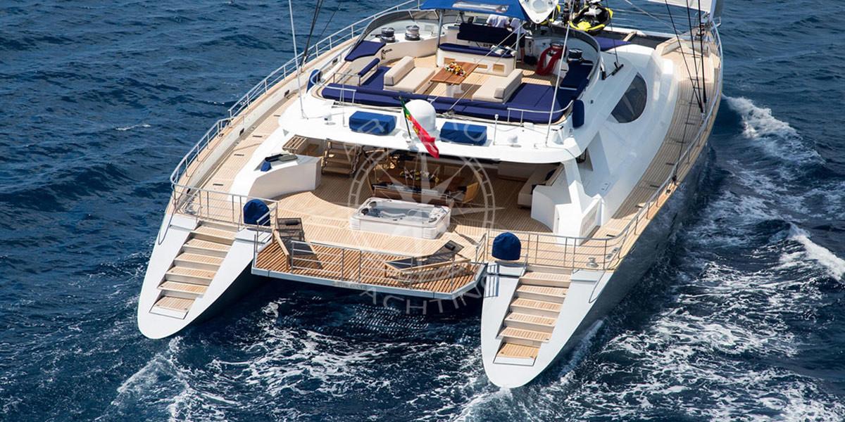 Location catamaran de luxe sur la Côte d'Azur