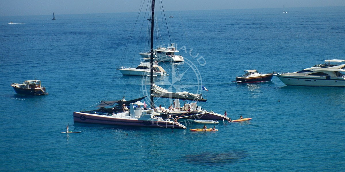 Location catamaran Saint-Tropez