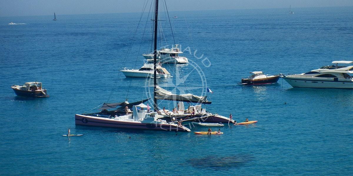 Location catamaran Saint-Tropez