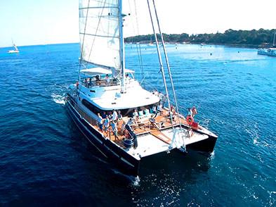 Location catamaran - Agence Evénementielle nautique
