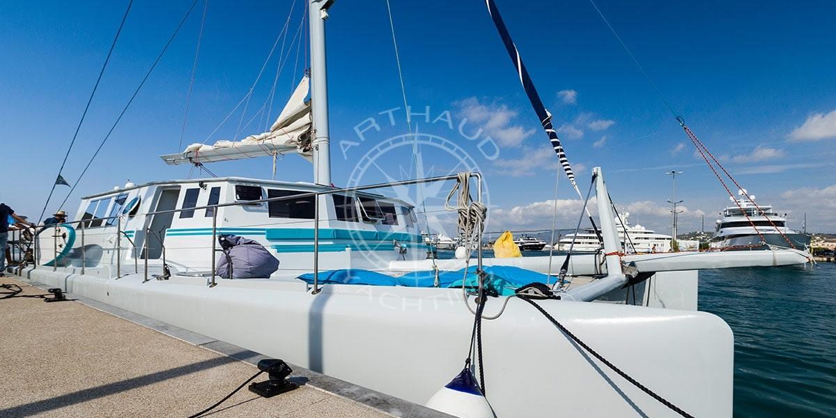 Rent a maxi catamaran French Riviera
