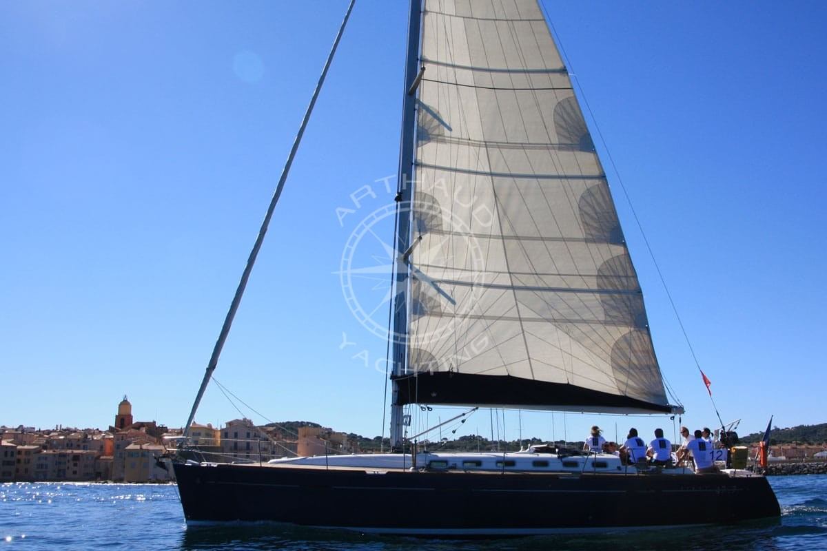 Régate & Soirée Yachting à Saint Tropez - Arthaud Yachting