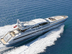 Yacht charter Cannes - MANGUSTA 130