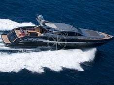 Yacht charter Cannes - MANGUSTA 92 BLACK
