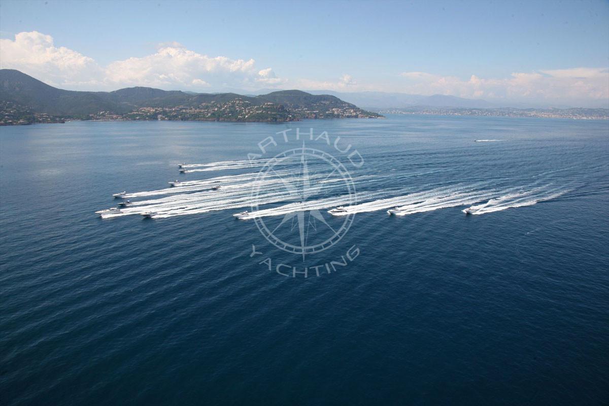 Transfert taxi Speedboat Saint Jean Cap Ferrat - Arthaud Yachting