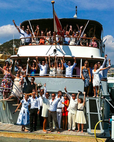 Agence événementielle Cannes - Arthaud Yachting