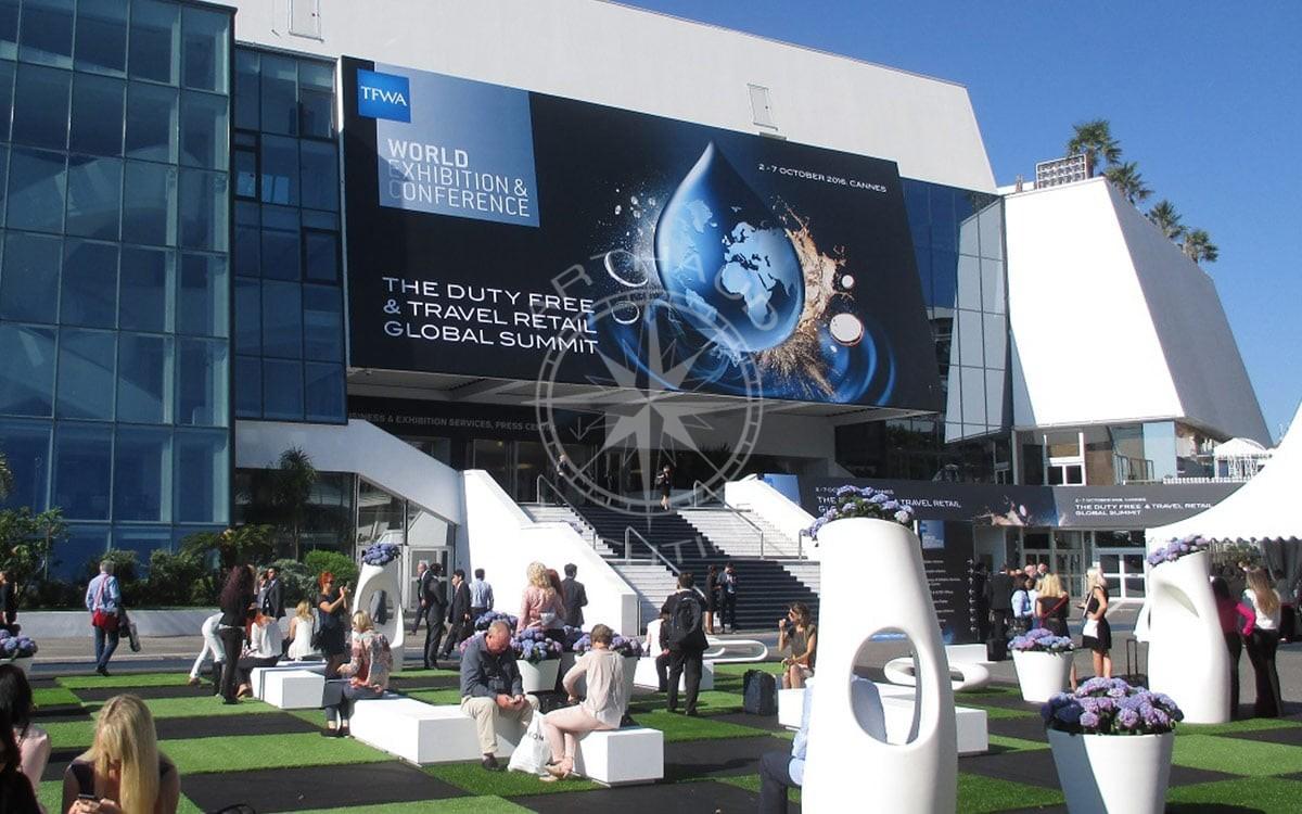 Location yacht charter - Congrés Cannes TFWA