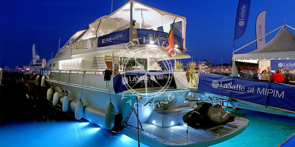 Arthaud Yachting | Quay Yacht Rental at Cannes for MIPIM