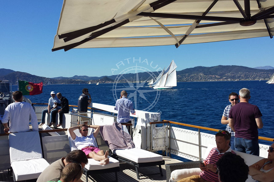 Incentive yacht Cannes - Arthaud Yachting