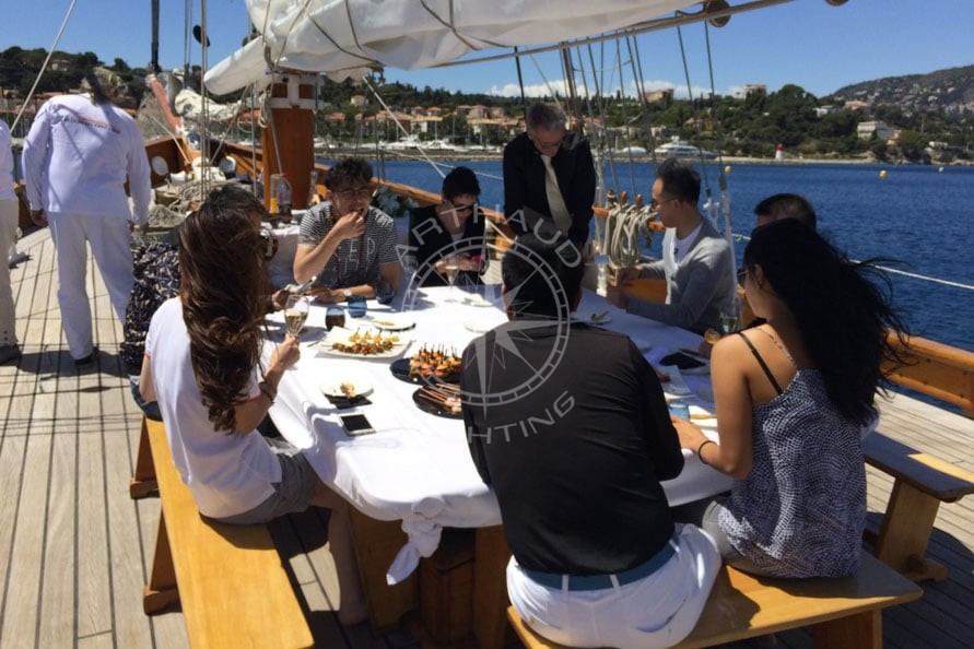 Croisiere sur un yacht de tradition - Arthaud Yachting