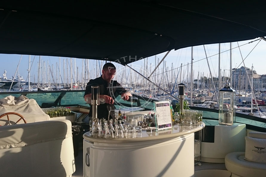 Evenement corporate yacht Cannes - Arthaud Yachting