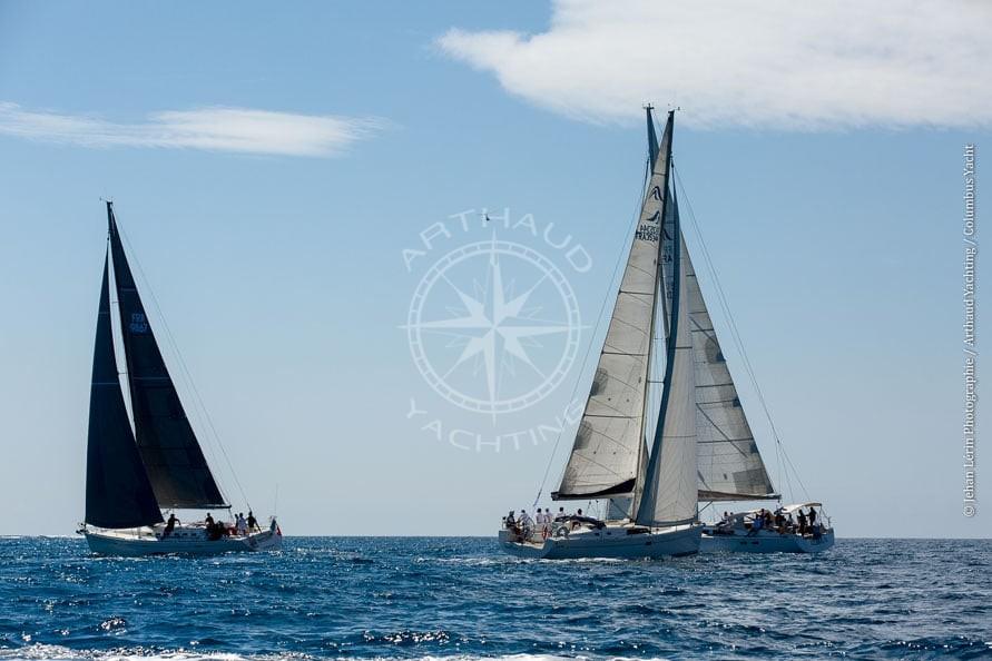 Transfert location catamaran - Arthaud yachting