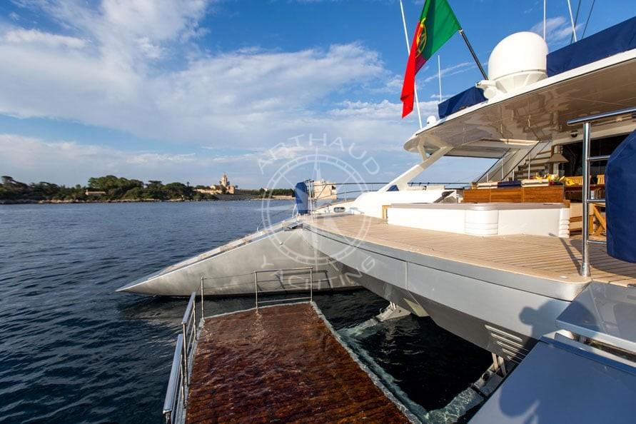 Croisière catamaran luxe - Arthaud Yachting