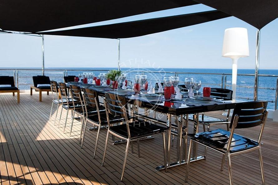 location du yacht idol pour un charter cannes et sur la. Black Bedroom Furniture Sets. Home Design Ideas