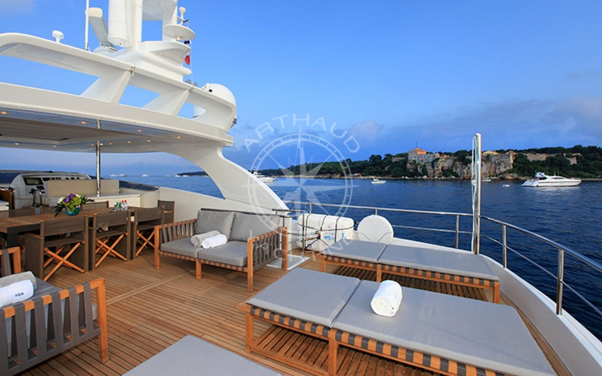 Location yacht charter - Monaco Grand Prix