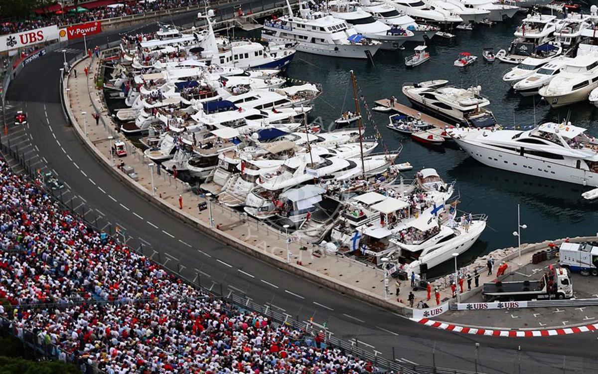 Yacht charter Monaco Grand Prix