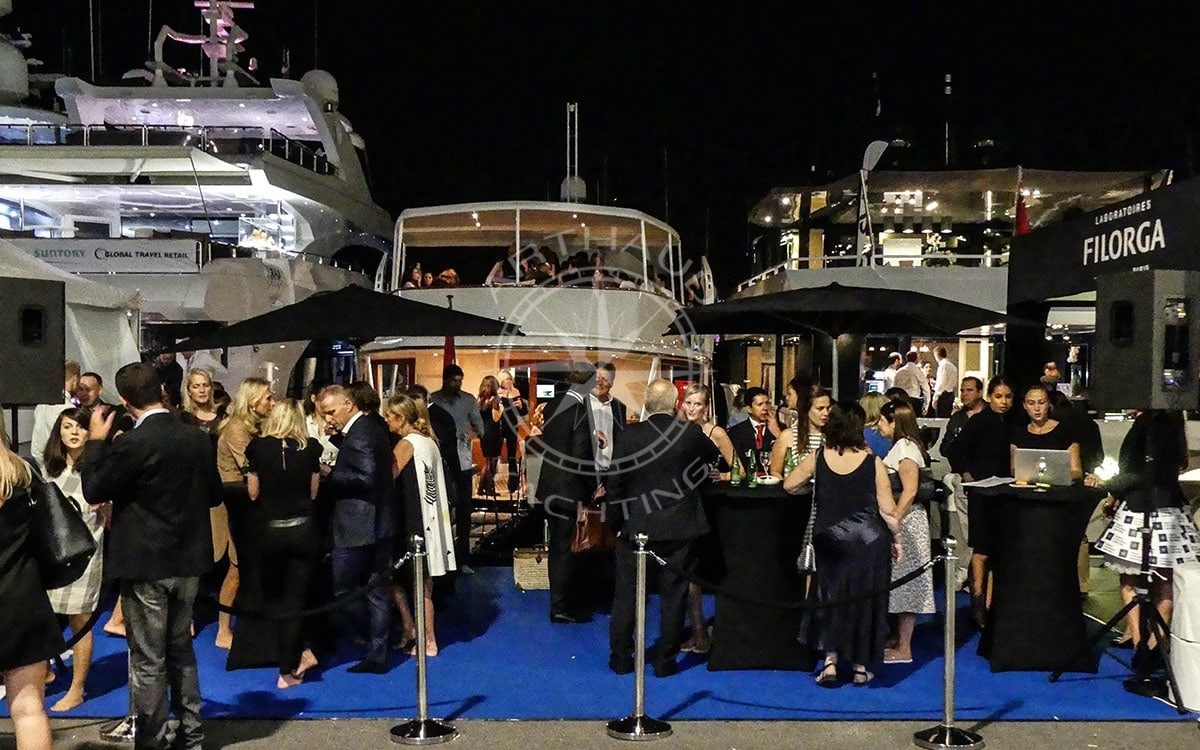 Location yacht charter - Congrés Cannes MAPIC