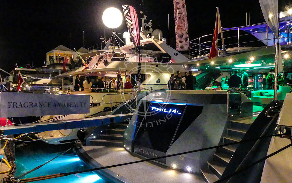 Yacht charter MAPIC Cannes