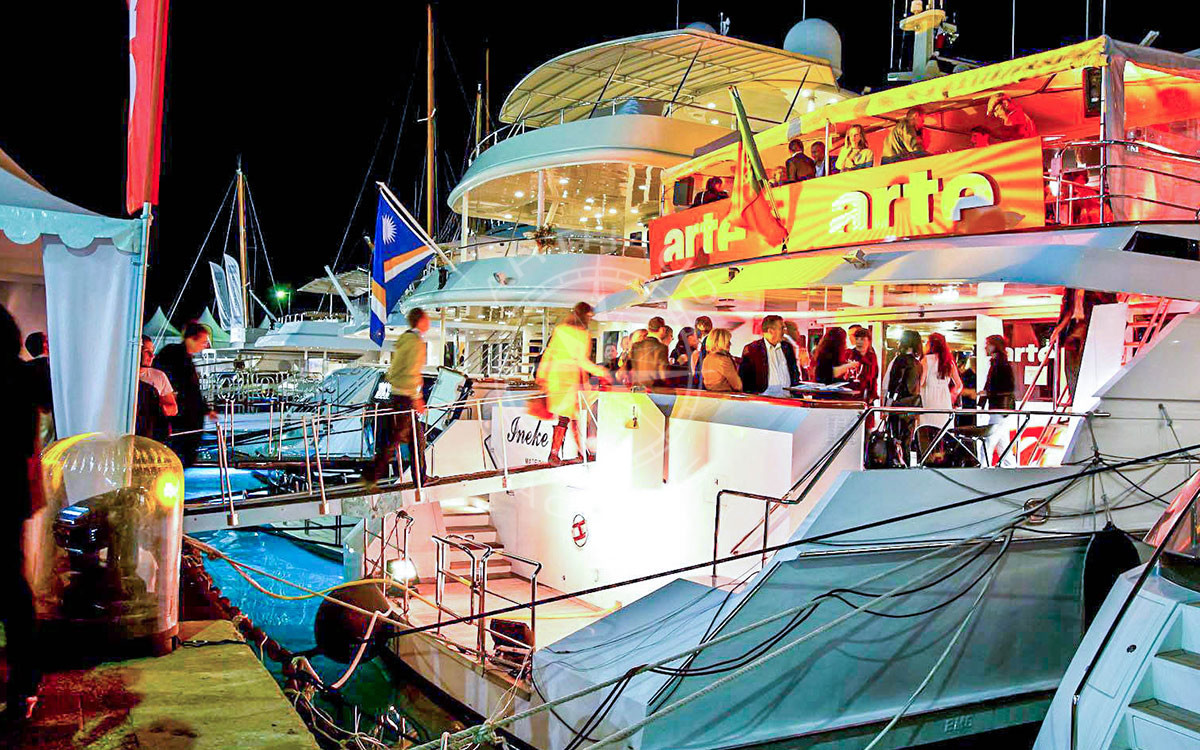 Yacht rental Cannes MIPTV