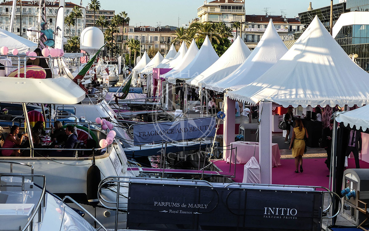 Rent a yacht Cannes MIPIM