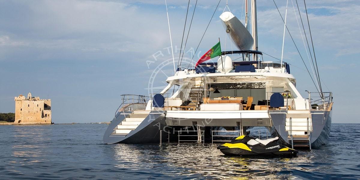Location yacht charter - Côte d'Azur
