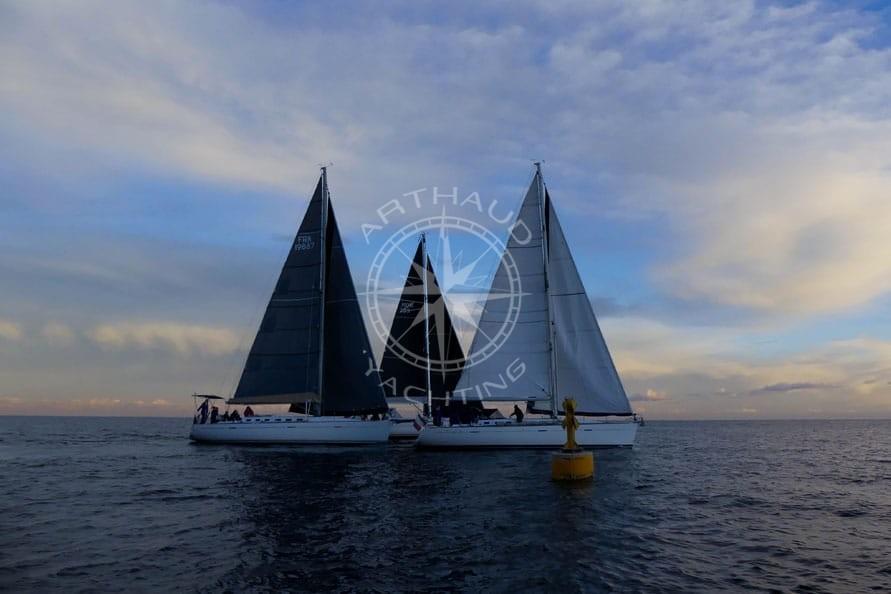 Location voiliers pour régate Monaco | Arthaud Yachting