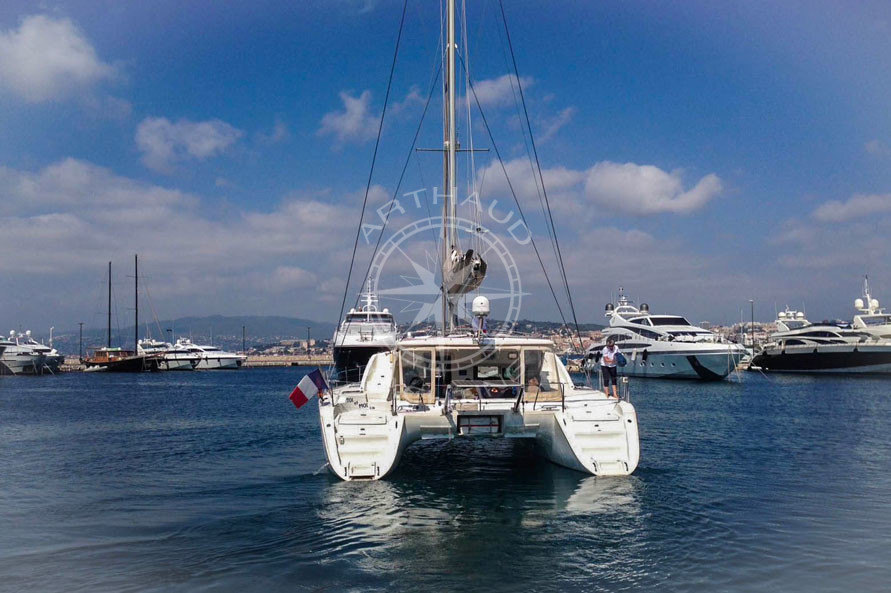 Location catamaran Côte d'Azur | Arthaud Yachting