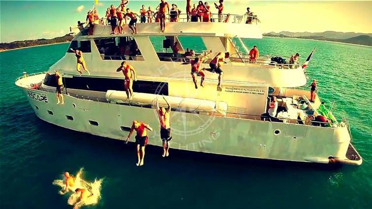 Location yacht anniversaire
