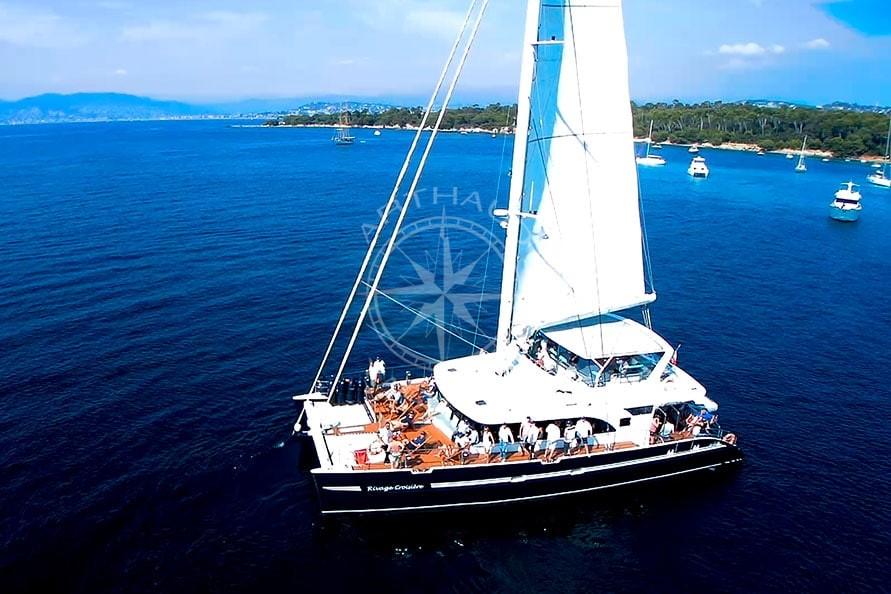Location catamaran régates royale Cannes