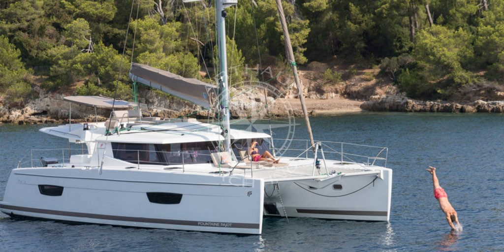 Catamaran charter and rental in Antibes