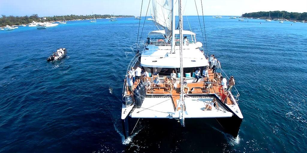 Catamaran charter and rental in Mediterranean Sea