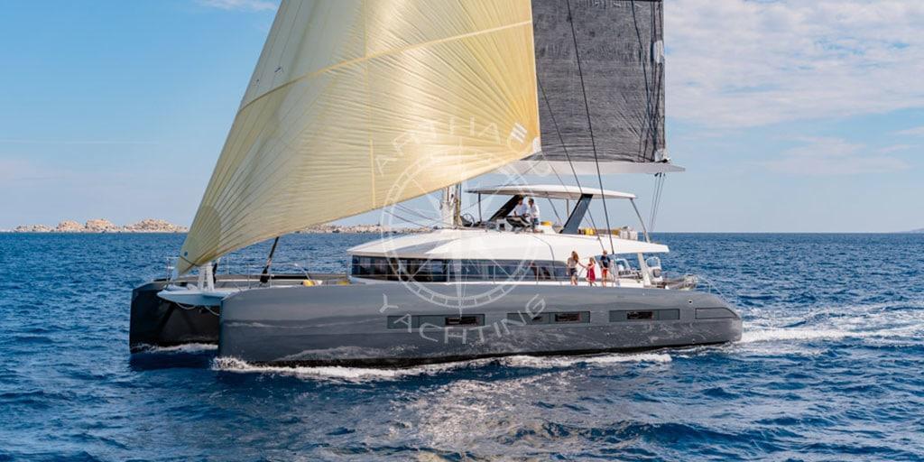 Catamaran charter Corsica