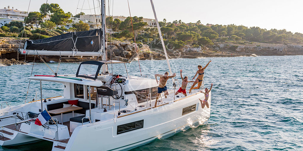 Catamaran charter in Marseille