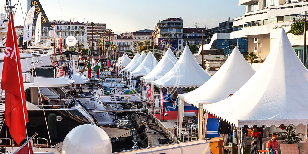 Quayside yacht charter International Film Festival Cannes