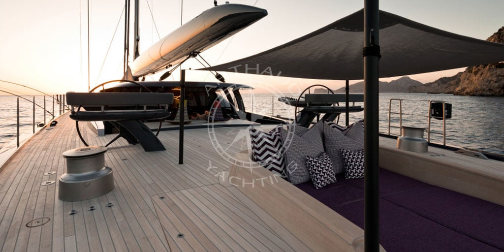 Sailing boat Corsica