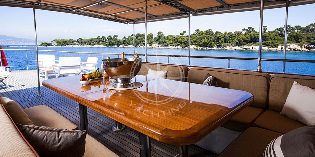 Clara One Motor Yacht for rental in South of France
