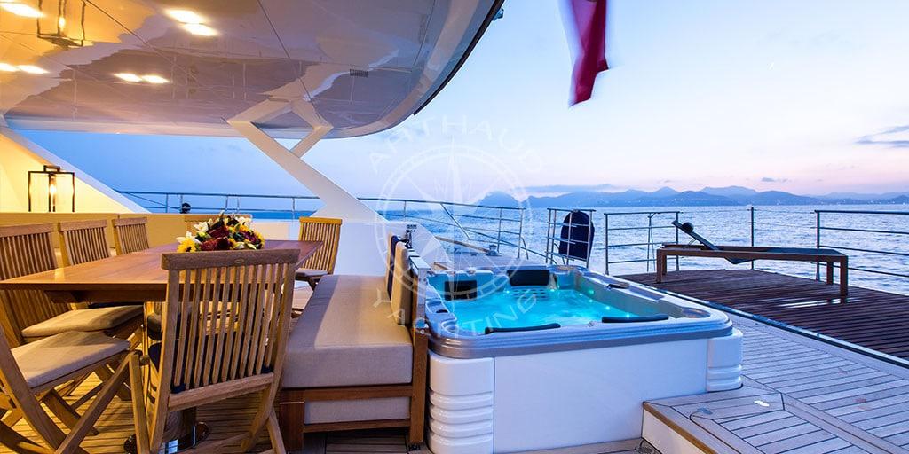 Catamaran S/Y Hutiane Sailing Yacht French Riviera