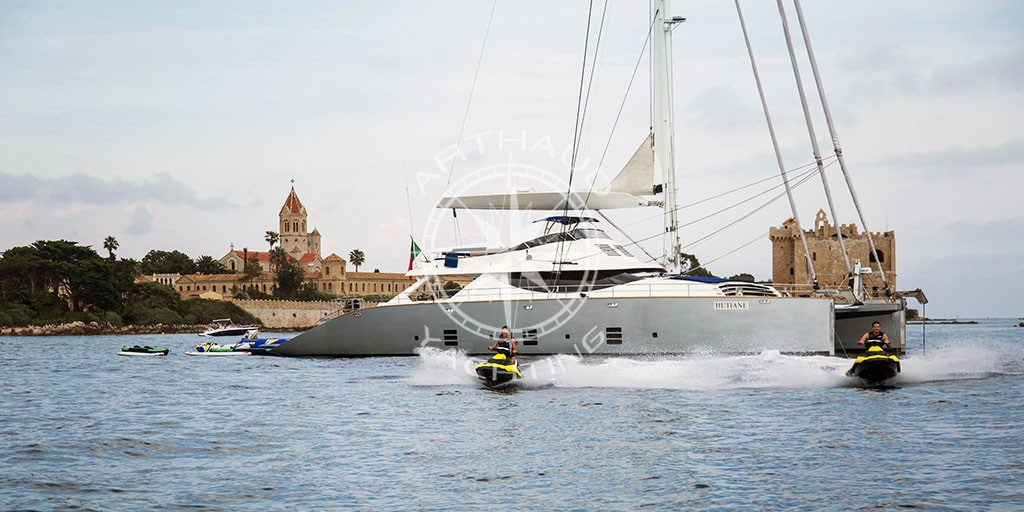 Location catamaran Cannes | Côte d'Azur